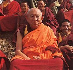 Tsenciab Serkong Rinpoche: Come primo passo verso lo sviluppo di una finalità di bodhicitta, dobbiamo promettere fortemente che non nuoceremo a nessun essere.
