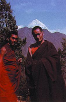 Lama Yesce e Lama Zopa