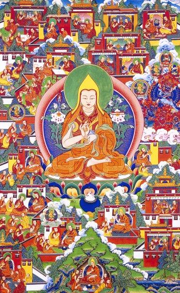 Lama Tzong Khapa: La saggezza è l'occhio con cui comprendere la profonda realtà.