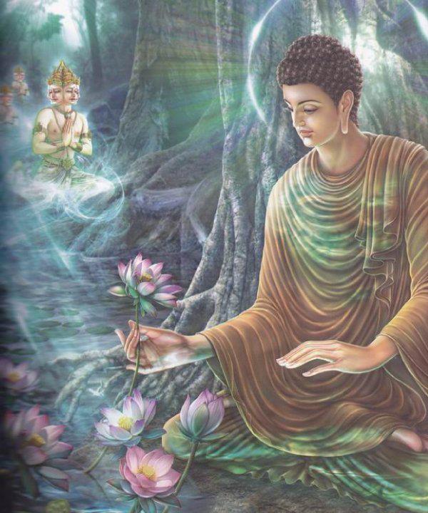 Buddha Sakyamuni: «Felice è l'uomo equanime ed attento ».