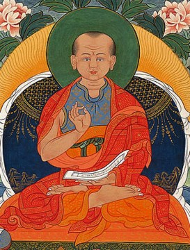 Geshe Langri Tangpa: May I, by perceiving all phenomena as illusory, be released from the bondage of attachment.