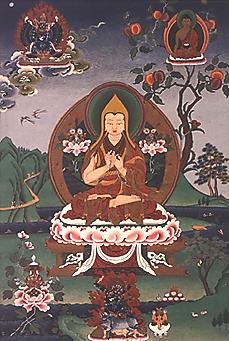 """Je Tzong Kapa: """"Senza una pura Rinuncia, non vi è modo di placare l'ardente desiderio dei piaceri""""."""