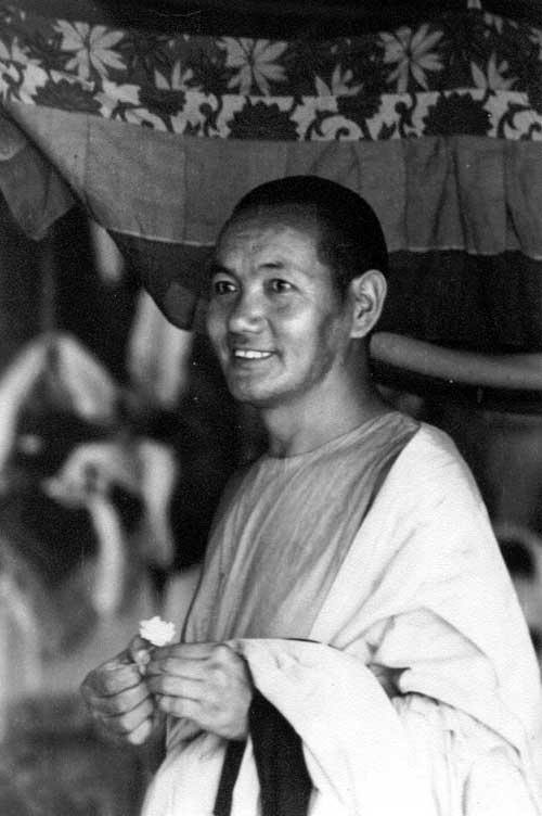 LAMA YESCE Kopan Nepal 1974