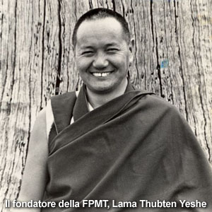 Il Ven Lama Thupten Yesce Rinpoche fondatore FPMT