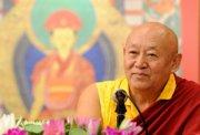 Sua Santità Drikung Kyabgon Chetsang Rinpoche: Affinché la vostra pratica abbia successo.