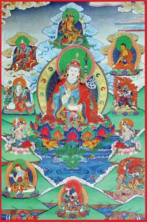 Le otto manifestazioni di Guru Rinpoche