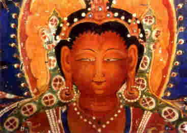 Buddha Amithaba, Alchi.