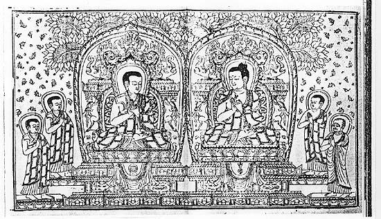Il Dhammapada 89:Coloro il cui pensiero è pienamente raccolto sui sette componenti della perfetta illuminazione, che si rallegrano del non ricevere nulla, dell'essersi affrancati dall'attaccamento, che dominano i propri desideri, che sono colmi di luce, questi sono giunti alla liberazione ancora in questo mondo.