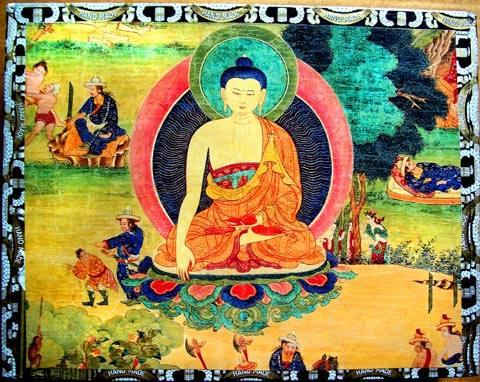 Dhammapada 132: Chi, perseguendo la propria felicità, non colpisce esseri che ricercano anch'essi la propria felicità, dopo la morte raggiungerà la felicità.