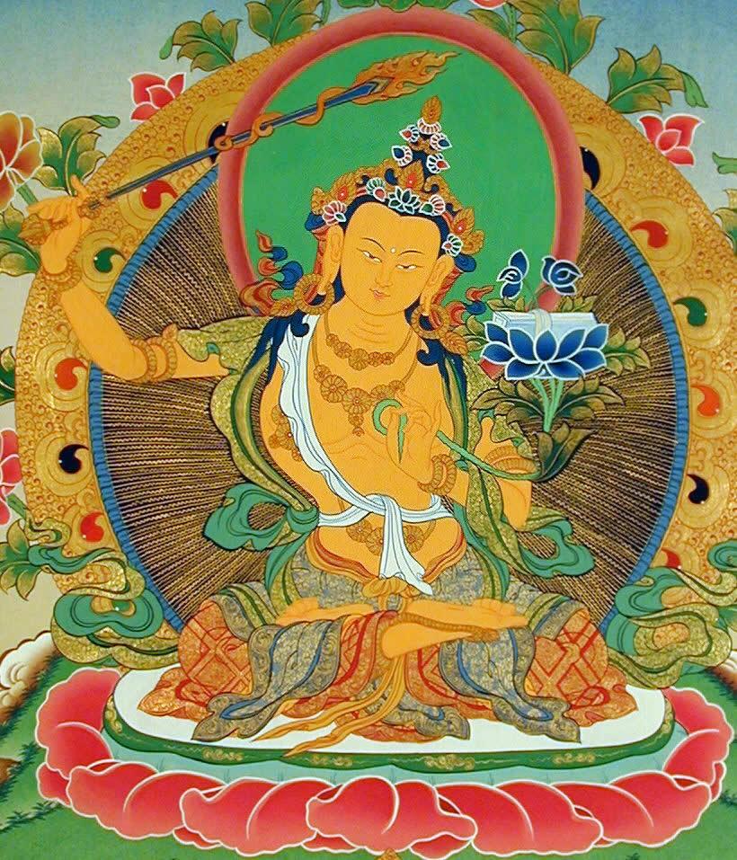 Manjushri, la saggezza di tutti i Buddha