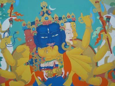 Lo scopo dello yoga del kalachakra è di trasformare le impurità ed
