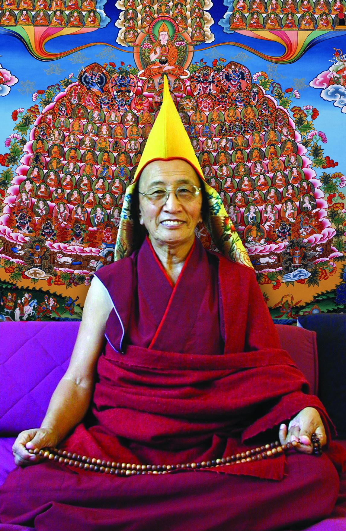 Ven. Ghesce Kirti Tsenshab Rinpoche