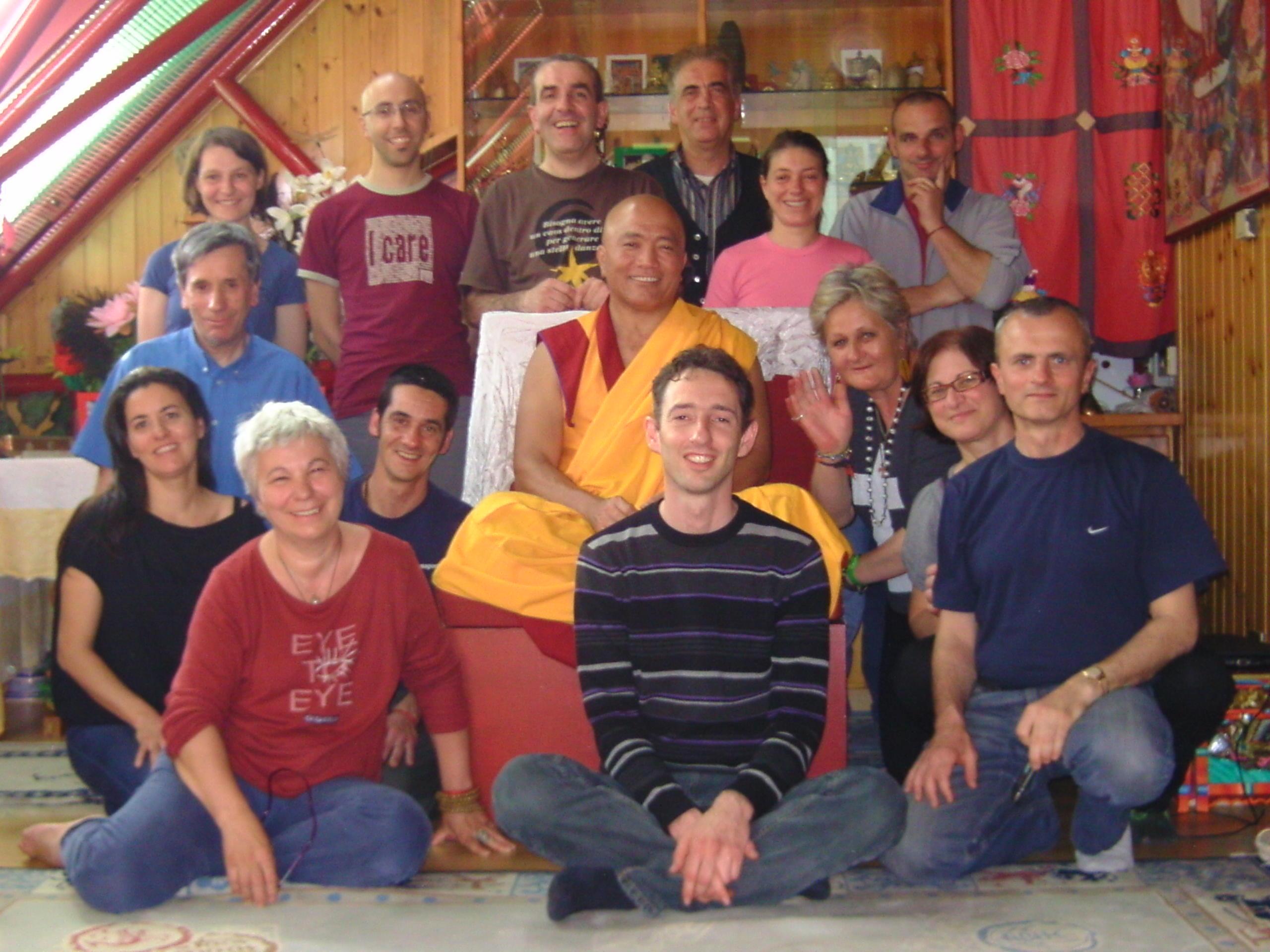 Ven. Lama Ghesce Tenzin Tenphel: La pazienza è considerata il migliore addestramento. Senza questo addestramento tutti gli altri sono molto difficili.