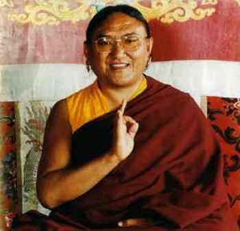 His Holiness Sakya Trizin: With the two together, method and wisdom, one can realize the true nature.