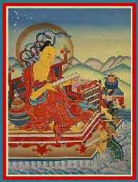 """Acarya Nagarjuna: """"Diffondi la fama delle immacolate Saggezza, Moralità e Generosità, in tutte le regioni del cielo, dello spazio e sulla faccia della Terra. Consegui, infine, lo Stato Trascendente del Nirvana, il cui nome incontaminato e perfetto, significa Pace ed Assenza di paura""""."""