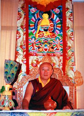 Sua Santità Drikung Kyabgon Chetsang Rinpoche: la natura essenziale della mente.