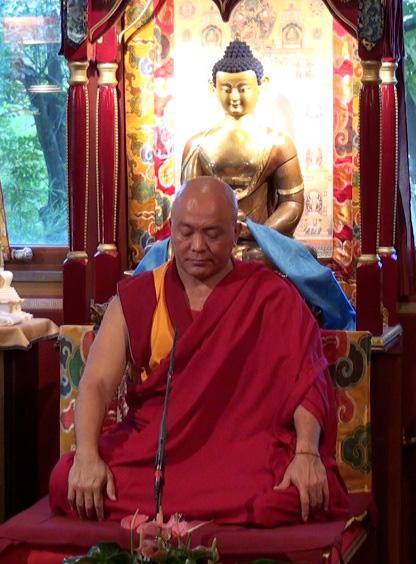 Ven. Gheshe Tenzin Tenphel: La rabbia e la paura hanno una funzione molto utile perché è attraverso la paura di avere paura che non le vuoi più avere.