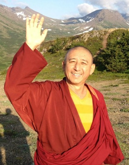 Ven. Geshe Thubten Soepa: Whoever gives up harming others, having understood this in accordance with the situation set forth, is a virtuous practitioner.