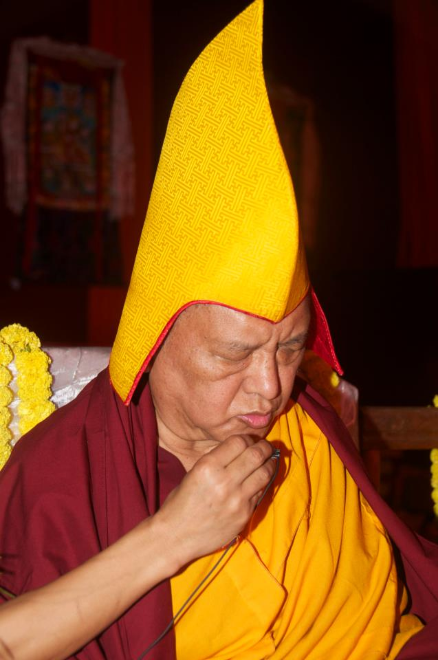 Lama Zopa Rinpoche: Since there is no change to the mind, the nature of life is always the same, constantly filled with problems.