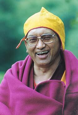 Lama Zopa Rinpoche: La nostra pratica della meditazione, di coltivazione della mente, non dovrà essere passiva. Non potremo spezzare le catene della sofferenza con il solo accettare ciecamentequello che qualcuno,siapure ungrandemaestro, ci dice difare.Dovremo inveceusarelanostra intelligenza innataperverificaree vedere se un comportamento che ci viene indicato è efficace.