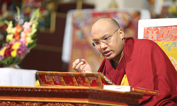 The Gyalwang Karmapa: Merely reciting the ritual is to develop true bodhicitta.