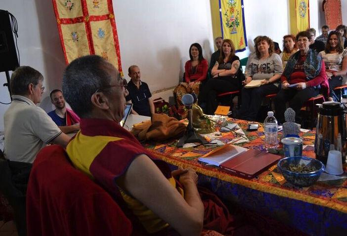Geshe Gedun Tharchin: Introduzione allo yoga è unione, meditazione, crescita spirituale,