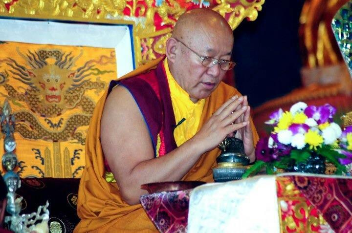 His Holiness The Drikung Kyabgön, Chetsang Rinpoche: Is this appearance of difference a true one or is it not?