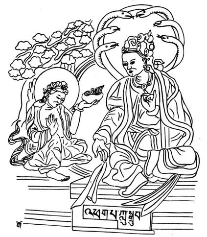 Nagarjuna: Coloro che si immergono nella mente dell'illuminazione la devono tenere stabile nei pensieri.