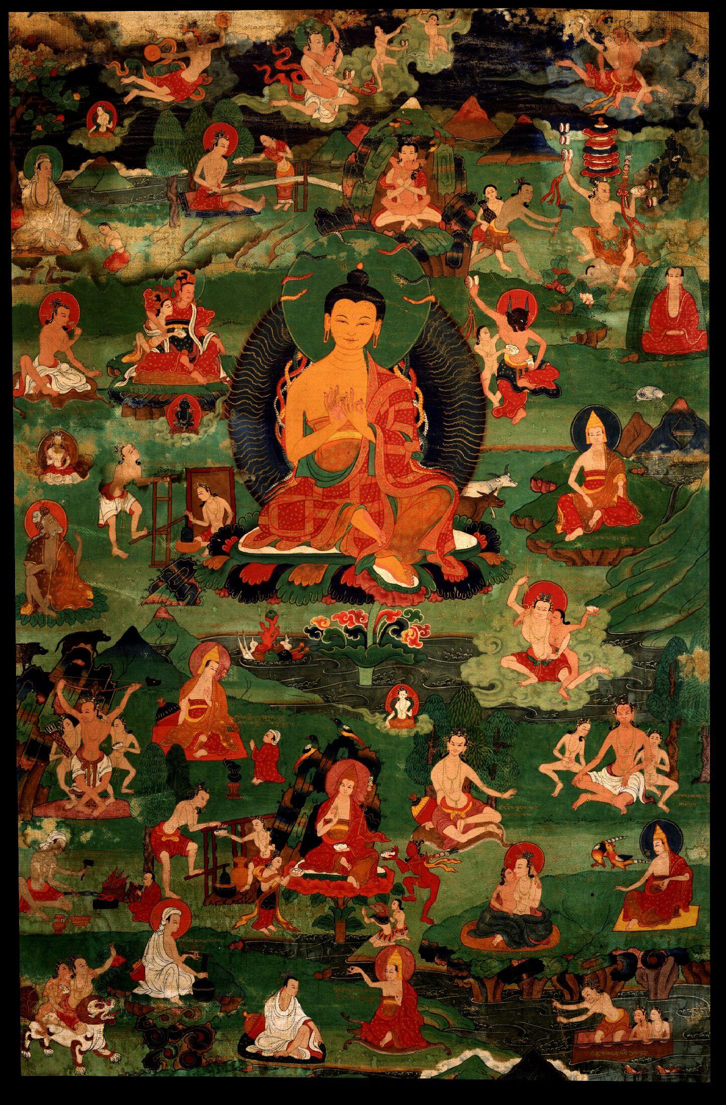Nagarjuna: Colui che vede il sorgere per relazione dipendente Vede anche la sofferenza, L'origine di tutto, la cessazione E il Sentiero.