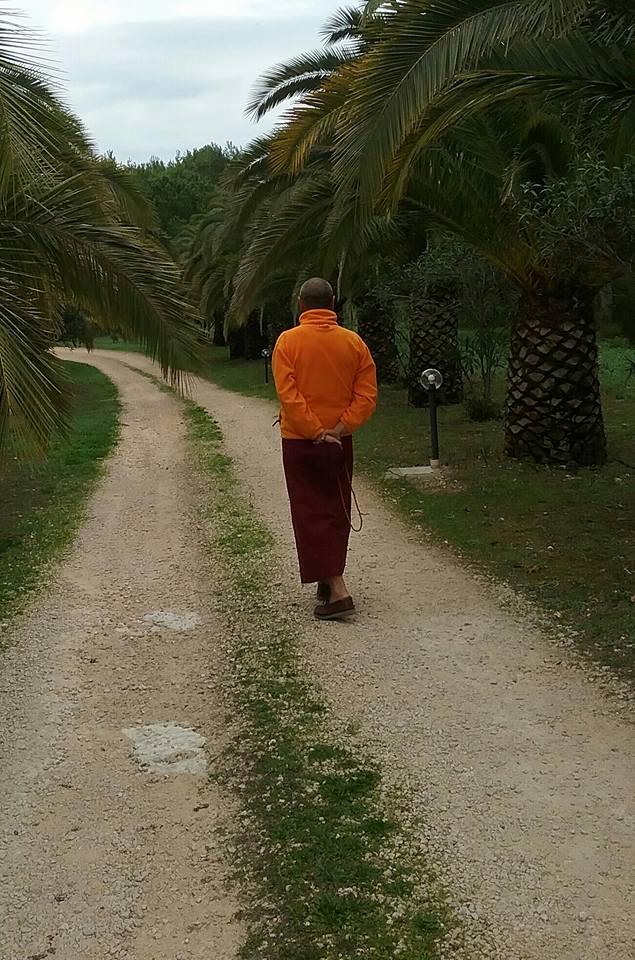 Ven Lama Ghesce Ghendun Tarchin. La legge di causa effetto ha creato l'universo, grazie all'energia della vacuità.