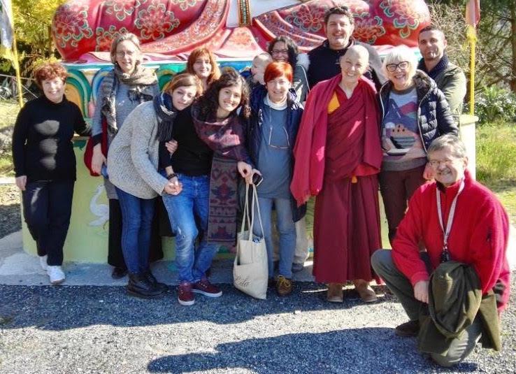Ven. Bikshuni Jampa Sangmo: La paura è la radice del samsara.