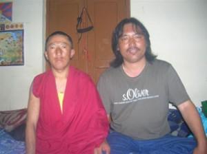 I monaci arrestati Tsering Jigme e Maday Gonpo