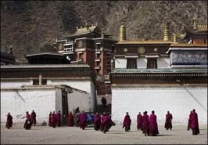 Il Monastero di Labrang nel Gansu