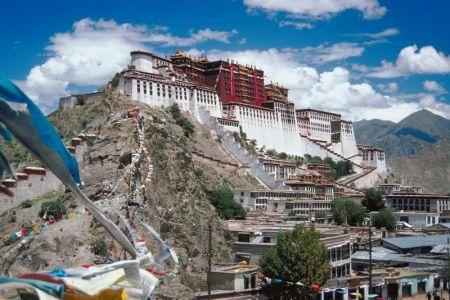 Il Potala, il Palazzo del Dalai Lama a Lhasa