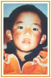 L'unica immagine disponbile del Panchen Lama Gedhun Choekyi Nyima
