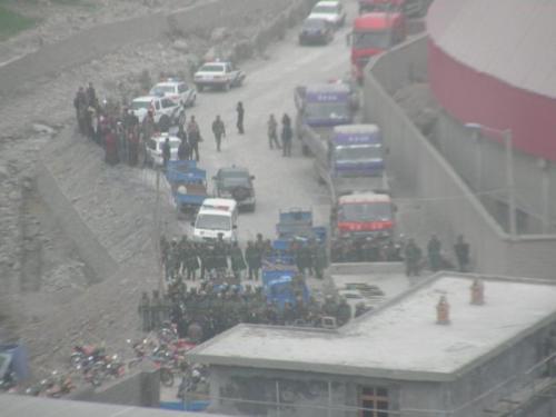 le proteste dei tibetani a Madang