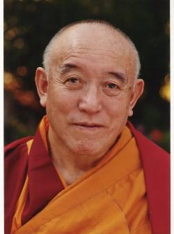 il grande Maestro Kyabje Denma Locho Rinpoche