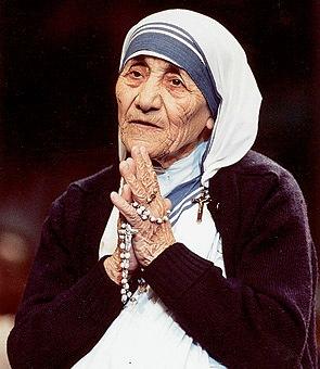 La Santa Madre Teresa di Calcutta