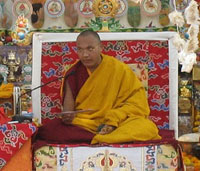 Lama Trinley Thaye Dorje, 17mo Karmapa