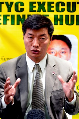Il nuovo primo ministro del Governo Tibetano in Esilio, Lobsang Sangay