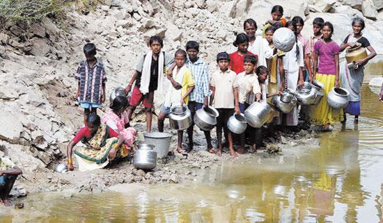 La crescente richiesta e mancanza di acqua minaccia la rapida crescita economica dell'Asia