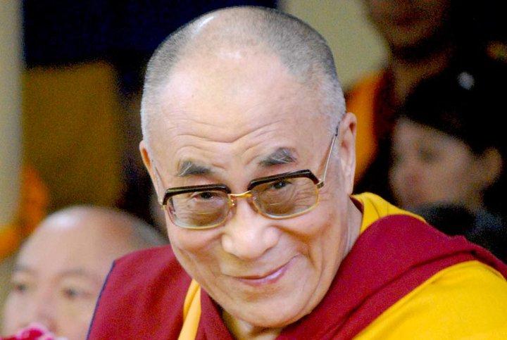 """Sua Santità il Dalai Lama: """"Noi condividiamo in pieno i principi della non-violenza""""."""