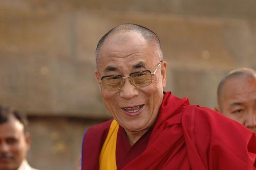 """Sua Santità il Dalai Lama: """"I miei scopi principali sono la promozione dei valori umani e l'armonia religiosa""""."""