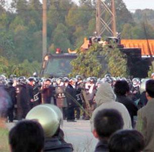 La protesta di Wukan