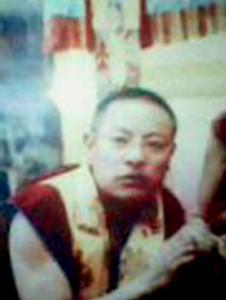 Sonam Wangyal, il monaco tibetano appena immolatosi.