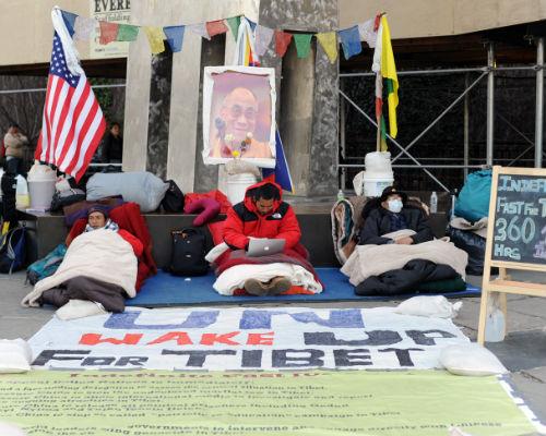 Lo sciopero della fame ad oltranza dei tre tibetani alle Nazioni Unite a New York sta producendo i suoi primi frutti.