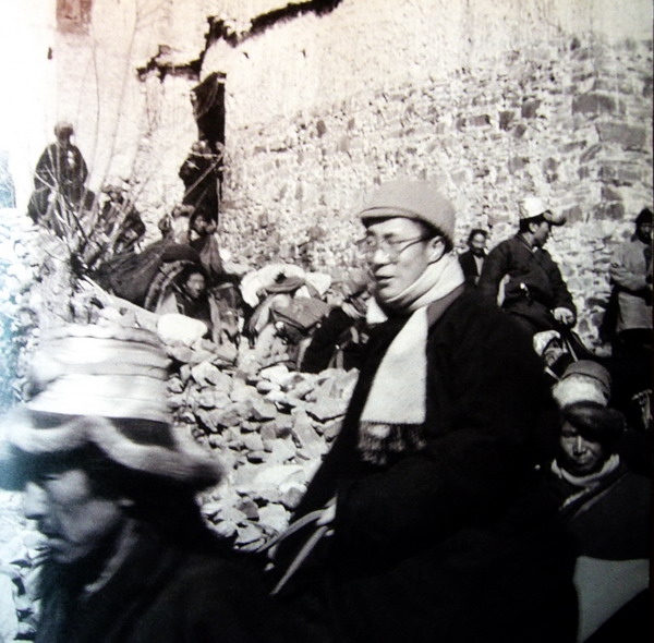 His Holiness the Dalai Lama escaping from Tibet in 1959