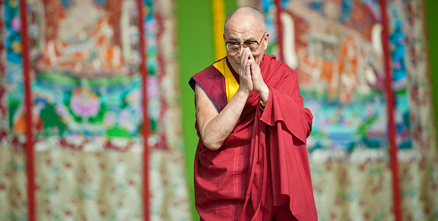 "His Holiness the Dalai Lama: ""Master Shantideva said there being no reason to feel sad if there is a way to overcome a challenge, and there being no use to feel sad if there is no way to overcome it""."