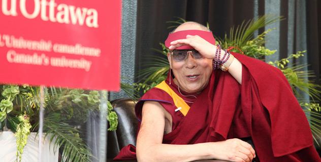 His Holiness the Dalai Lama in Ottawa