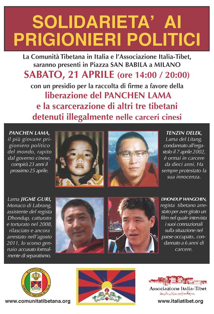 solidarietà tibet